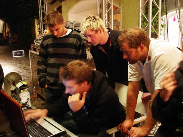 RTI-Team beim konfigurieren