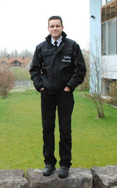 Alex Jahn ist der Mann für Bewachung und Sicherheit