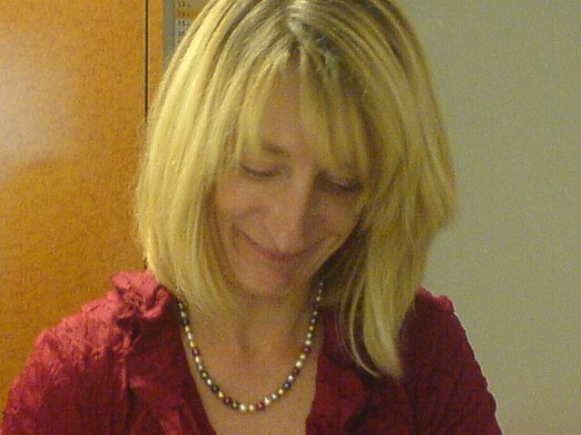 Eva Kollmann ist verantwortlich für Kassenlogistik