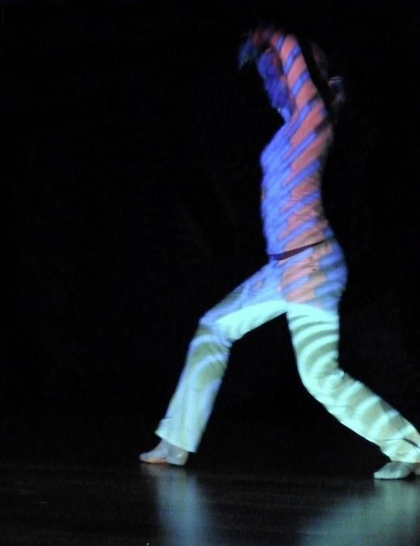 Tanz Projektion 3