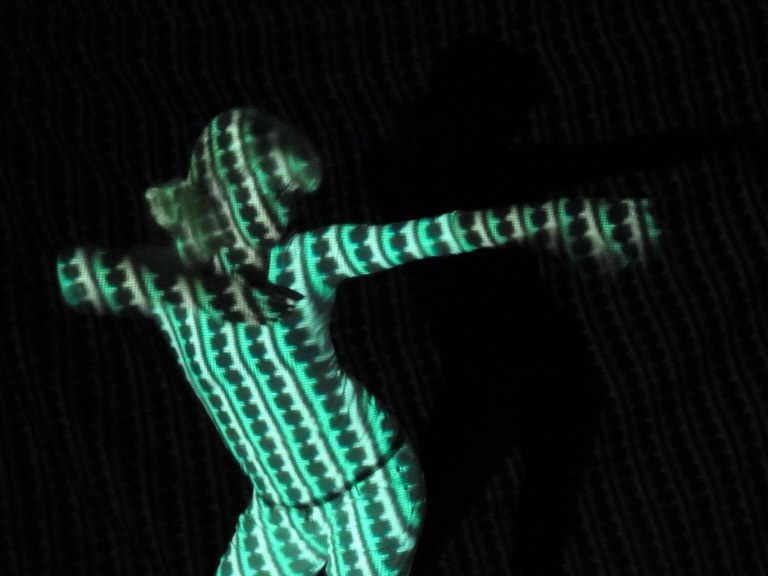 Tanz Projektion 1