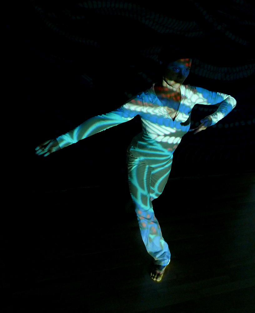 Tanz Projektion 4