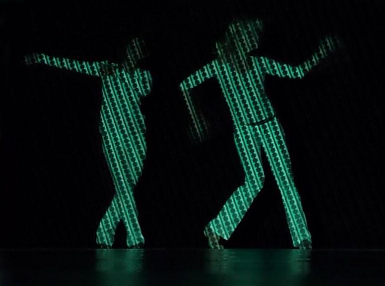 Tanz Projektion 2