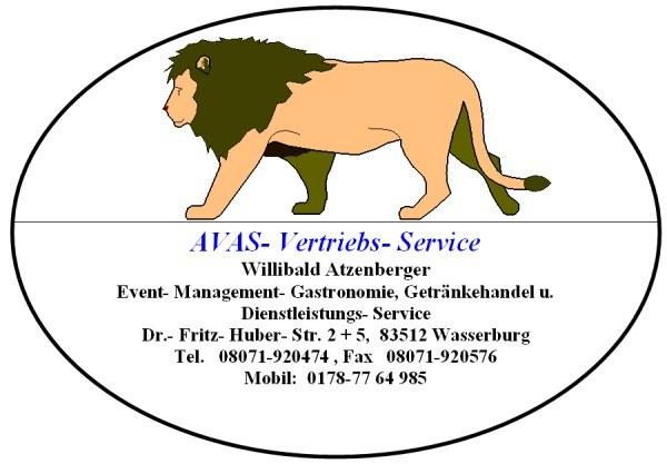 AVAS Logo mit Adresse