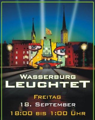 Termin für Wasserburg Leuchtet 2009