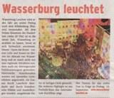 Medien berichten über Wasserburg Leuchtet 2009