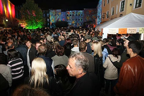 Wasserburg Leuchtet am Freitag 19. September 2008