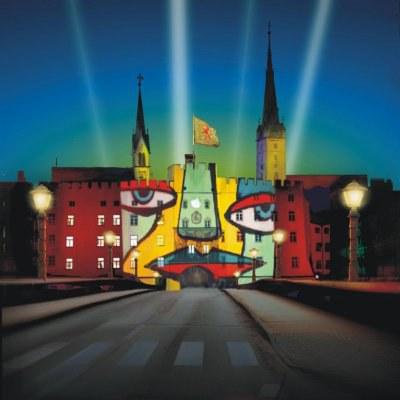 Plakat Wasserburg Leuchtet