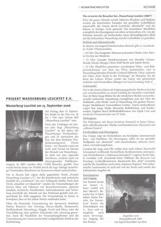 Projekt Wasserburg Leuchtet e.v.