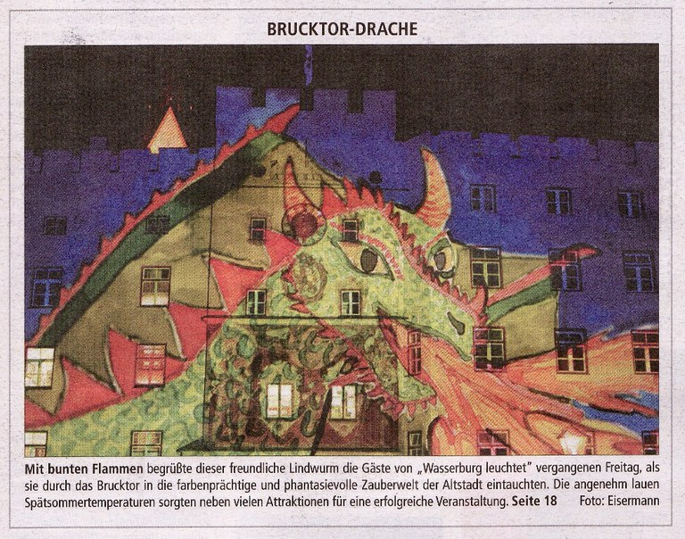 Brucktor-Drache