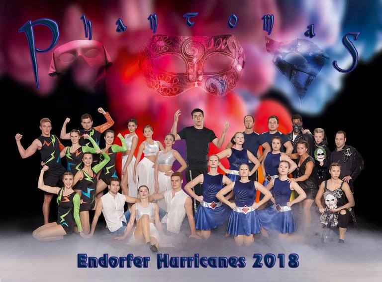 "Bad Endorfer Showtanzgruppe ""Hurricanes"""
