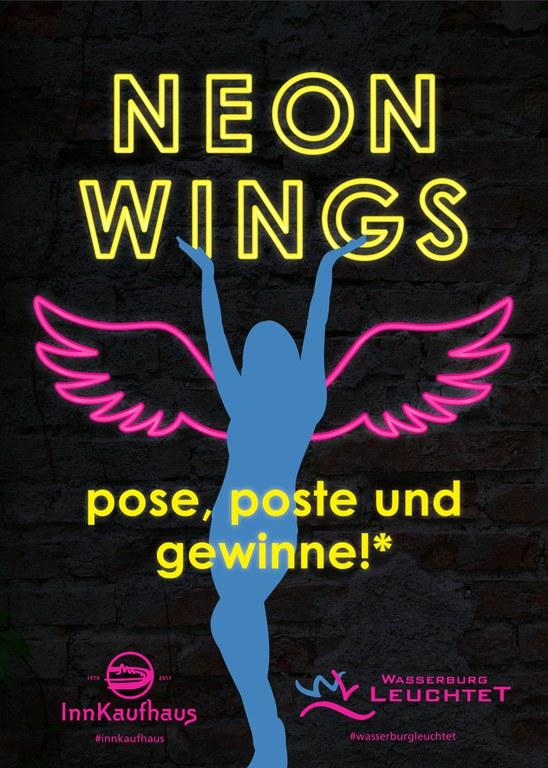 NeonWings Fotowettbewerb mit dem InnKaufhaus