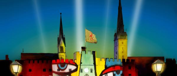 Über Wasserburg Leuchtet